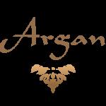 Logo Argan Protein a colori Nero